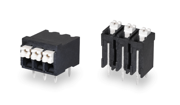 New Screwless Terminal Blocks Ideal for High Temperature Operation